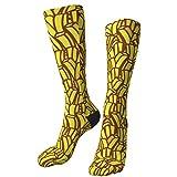 Novità calzini per equipaggio deliziose patatine fritte abito morbido calzini medi casual atletico per uomo donna