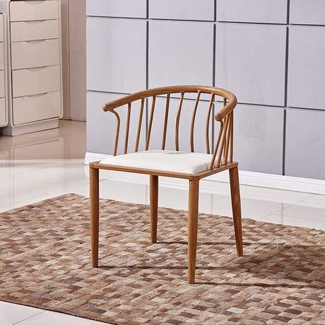 Decoración hogareña Sillas de Sala de Estar Sala de Estar Casa Muebles de Acero Silla de café Sil