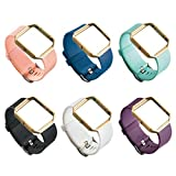 UCAI 6 Packs Wristbands Compatible with Fitbit Blaze Smart Watch (No Tracker or Frame)