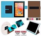 Hülle für Medion Lifetab S10346 (MD 98992) Tasche Cover Hülle Bumper | in Braun | Testsieger