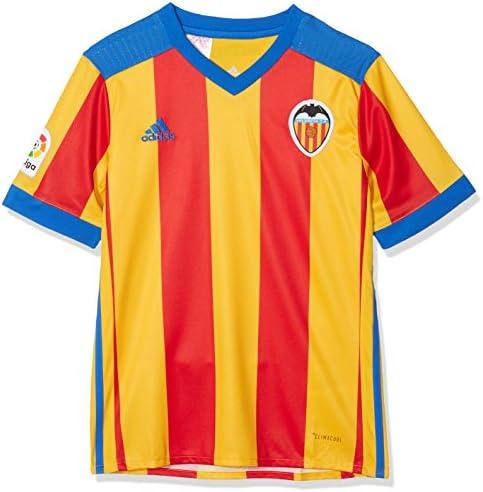 adidas Vcf A JSY Y - Camiseta 2ª Equipación Valencia CF 2017-2018 Niños: Amazon.es: Ropa y accesorios