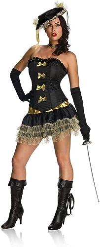 Horror-Shop Musketier Kostüm für Frauen L   40