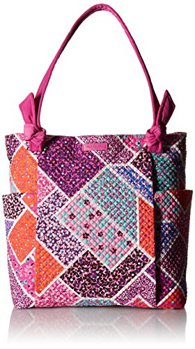 Vera Bradley Women's Signature Cotton Hadley Tote Bag, Modern Medley