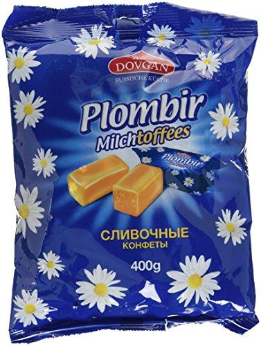 Dovgan Plombir Milchtoffees, 5er Pack (5 x 400 g)
