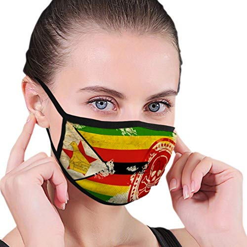 Mondbescherming B7528 groen design halfgezichtsmasker mondmaskers met oorbeschermer winddicht masker