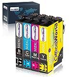 OfficeWorld 502 XL Patronen Ersatz für Epson 502XL Multipack Druckerpatronen Kompatibel mit Epson...