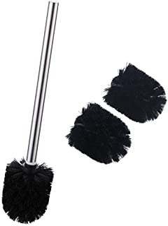 Hiendure Toilet Replacement Brush White 3 Pieces