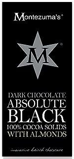 Montezuma's Dark Chocolate Absolute Black with Almonds