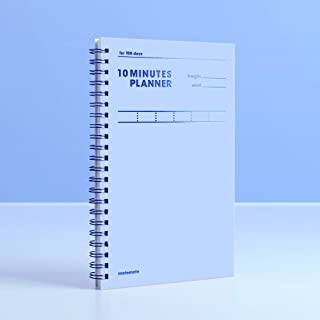 [MOTEMOTE] 10 Minutes Planner 100 Days Color Chip (Serenity) / Study Planner/Planner