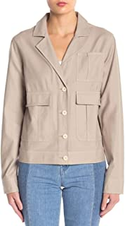J Brand Tracy Utility Jacket, Drift Wood - Large