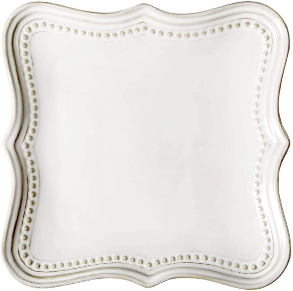 Embossed Square 67% OFF of fixed price Plate Palace Shaped Butter Decorat Bread Fashion