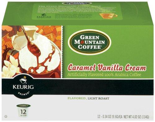 Green Mountain Coffee K-Cup, Caramel Vanilla Cream, 12-Count