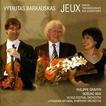Vytautas Barkauskas: Jeux / Partita / Two Monologues / Duo Concertante by Lithuanian National Symphony Orchestra (2005-09-27)