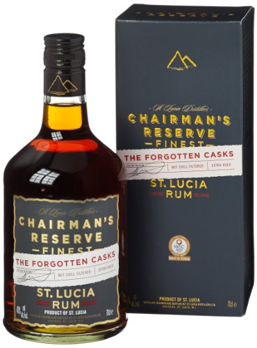 Chairman's Reserve Chairman'S Reserve The Forgotten Casks Finest St. Lucia Rum 40% Vol. 0,7L In Giftbox - 700 ml