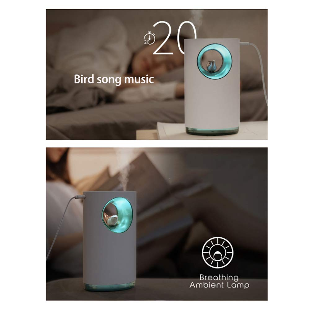 ZTBGY Humidificador Multifuncional Aves Creativa canción de la ...