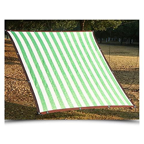 Solar Sombra Paño HDPE Enfriarse Resistente A Los Rayos Ultravioleta Resistencia Al Desgarro Red De Sombra De Jardín Para Verano Cubierta De Planta De Cochera De Jardín Al Aire Libre, Personalizable L