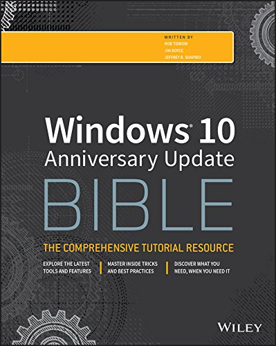 Windows 10 Anniversary Update Bible (English Edition)
