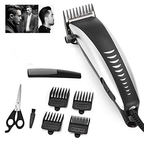 Cortadora de cabello profesional eléctrica para hombres Hogar de poco ruido Recortador de cabello para hombres Afeitadora de barba Herramientas de corte de pelo personal