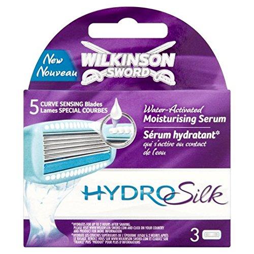 Wilkinson Sword Hydro Silk für Frauen Blätter Rasierpinsel 3Pro Packung 3pro Packung