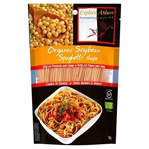 Explore Asian Glutine Di Soia Libera E Organica Di Spaghetti Di Fagioli 200g (Confezione da 6)