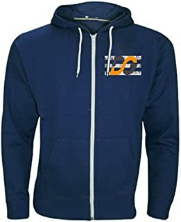 f4ffe6976 PURL® Plain Mens American Fleece Big Sizes Zip Up Hoody Hooded Zipper Top  Warm Pullover