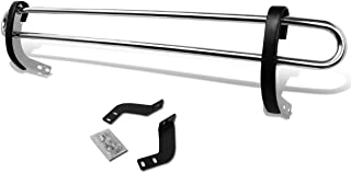 For Sienna XL30 Stainless Steel Double Bar Rear Bumper Protector Guard (Chrome)