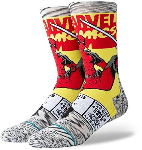 Stance Deadpool Comic Socken Unisex, Grey, S