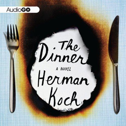 The Dinner audiobook cover art