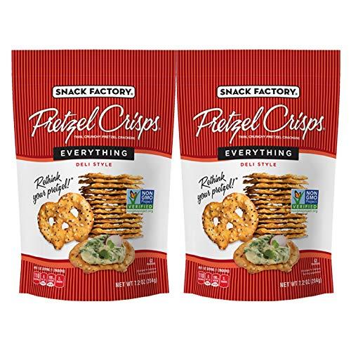Snack Factory Everything Pretzel Crisps 72oz 2 pack