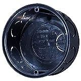 f-tronic Unterputz-Abzweigdose, 35mm tief, D72mm, E110, Inhalt: 25, Stück, Schwarz