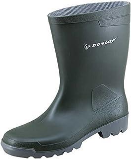 Dunlop 'Bottes en Caoutchouc Hobby Courte - Gris - Gri