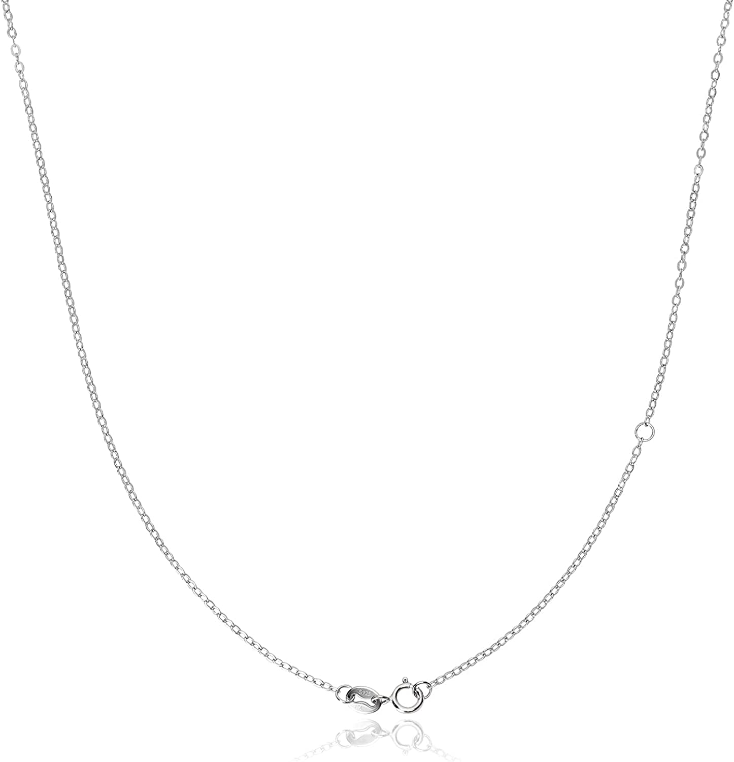 925 Sterling Silver Necklace for Neckla OFFicial Sales of SALE items from new works mail order Chain Women Replacement
