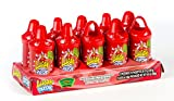 Lucas Muecas Lollipop With Chili Powder CHERRY PACK OF 10 PCS Mexican Candy with Free Chocolate Kinder Bar Included