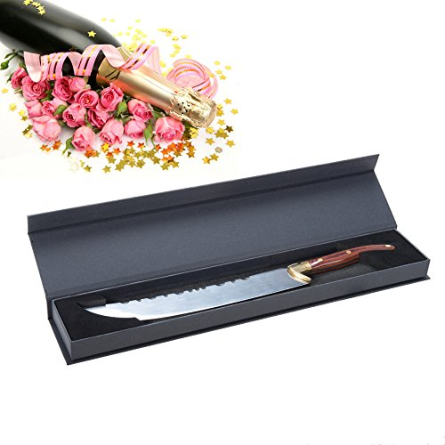 CO-Z Champagne Saber Sword Knife Opener Luxurious for Champagne Red Wine Bottle