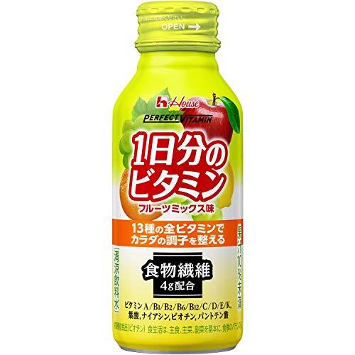 ハウスウェルネスフーズ Perfect VITAMIN1日分のビタミン 食物繊維 フルーツミックス味 120ml ×30本