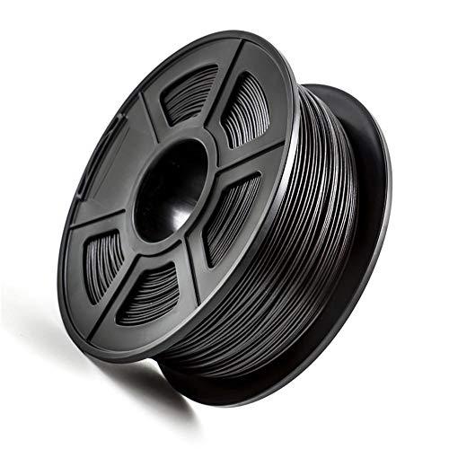 PETG-Kohlefaserfilament 1,75 mm, 3D-Druckerfilament, PETG + Kohlefaser-Ruß 3kg