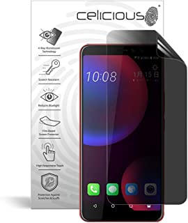Celicious Privacy Plus 4-Way Anti-Spy Filter Screen Protector Film Compatible with HTC U11 Eyes