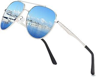 Premium Military Men Aviator Polarized Sunglasses Women Coating Mirrored Sun Glasses For Driving,100% UV