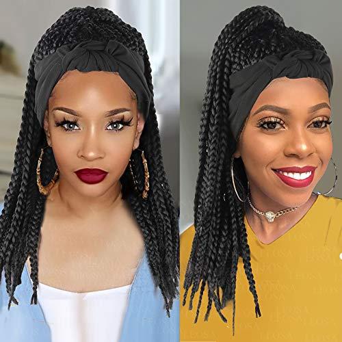 Braided wigs with headband _image0
