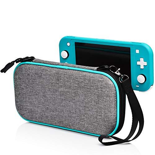 Nintendo Switch Lite ケース 耐衝撃 Nintendo Switch Lite 収納ケース ニンテンドースイッチ Lite ケース 任天堂 防塵 防汚 防水 保護カバー 大容量 8個カート/ケーブル/イヤホンなど小物収納