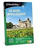 Wonderbox - Coffret cadeau - SEJOUR OENOLOGIQUE - Idée cadeau fête des mères - Hotels 3, 4 étoiles, belles demeures vigneronnes, maison d'hôtes.