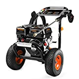 3300PSI Gas Pressure Washer 6.5HP Power Engine 212cc, 30ft Pressure Hose CARB Compliant, Ideal for Cleaning Up Yards, Trucks