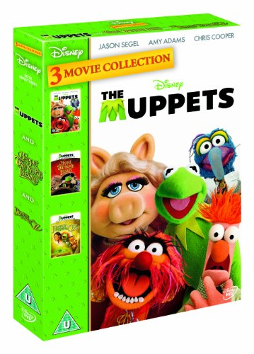 The Muppets/Muppets Wizard of Oz/Muppets Treasure Island Triple Pack [DVD]