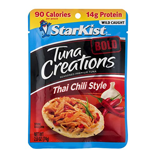 StarKist Tuna Creations BOLD Thai Chili Style- 2.6 oz Pouch (Pack of 24) (Packaging May Vary)