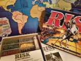 Parker Brothers Risk 1998 Board Game with Army Shaped Pieces