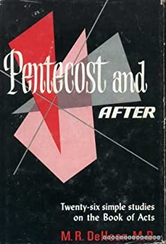 Hardcover Pentecost and After (Twenty-six simple studies on the Book of Acts) Book