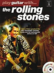 Partition : Rolling Stones Play Guitar With+Cd Tab