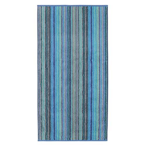 Cawö Home Handtücher Luxury Home Multistripe 601 blau - 14 Duschtuch 80x150 cm