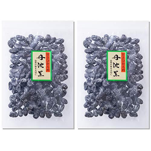 丹波黒 黒豆甘納豆 150g  甘さひかえめ しぼり甘納豆 お得な2袋セット 志賀商店