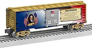 Lionel Presidential Series James Buchanan, Electric O Gauge Model Train Cars, Boxcar